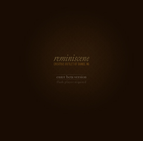 Creative Outlet of Daniel Ng - Reminiscene